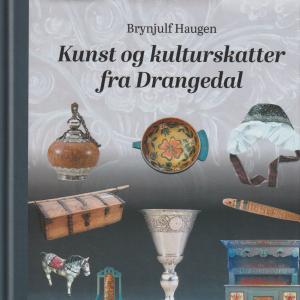 Bilde av bok om Kunst og kulturskatter fra Drangedal